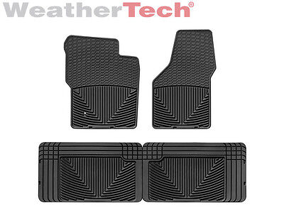 Weathertech All Weather Floor Mats   Ford Super Duty Ext  Cab 1999 2007   Black