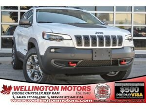 2019 Jeep Cherokee Trailhawk 4x4 / Full Sunroof / GPS / Remote S