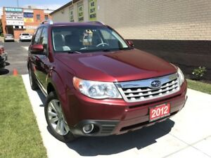 CANADA DAY SPECIAL $500 OFF! 2012 Subaru Forester X Limited