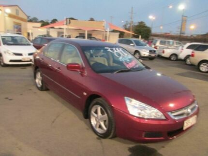 2006 Maroon Honda Accord 2006 Honda Accord 40 Vti