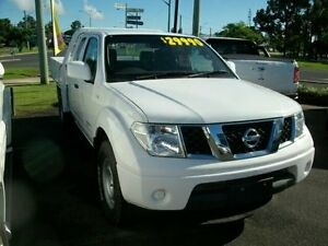 2012 Nissan Navara D40 S6 MY12 RX King Cab White 6 Speed Manual Cab Chassis South Grafton Clarence Valley Preview