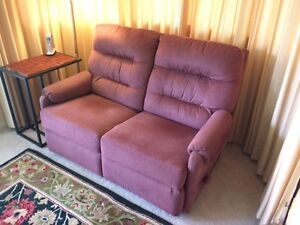 PRICE REDUCED TO $195-RECLINER: TWO-SEAT--MANUALLY OPERATED Peterborough Peterborough Area image 1