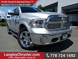 2016 RAM 1500 Laramie ACCIDENT FREE W/3.0L V6 Turbo Diesel En...