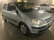2003 Hyundai Getz TB GL Blue 4 Speed Automatic Hatchback Campbelltown Campbelltown Area Preview