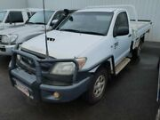 2005 Toyota Hilux KUN26R MY05 SR Glacier White 5 Speed Manual Cab Chassis Atherton Tablelands Preview