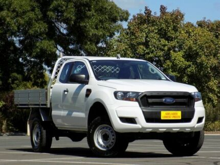 2016 Ford Ranger PX MkII XL Super Cab 4x2 Hi-Rider White 6 Speed Sports Automatic Cab Chassis Enfield Port Adelaide Area Preview