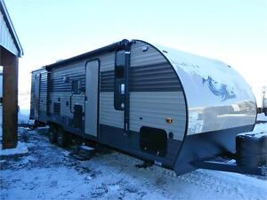 2017 FOREST RIVER CHEROKEE GREY WOLF LIMITED 26 DBH!! $25995!!