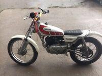 yamaha ty80 trials bike