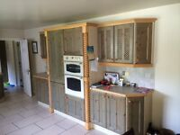 Large kitchen and utility room units for sale including appliances