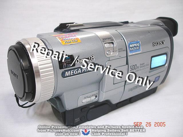 REPAIR / SERVICE of SONY Handycam DCR-TRV730 530 330 230 Camcorder (*READ 1st*)