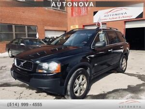 ***2004 VOLVO XC90***7 PASS/FULL/CUIR/CAMERA/TOIT/438-820-9973.