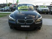 2006 BMW 525i E60 MY06 Upgrade Sport Navy Blue 6 Speed Auto Steptronic Sedan New Lambton Newcastle Area Preview