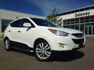 2012 Hyundai Tucson Limited AWD Heated Leather Seats, Dual Clima