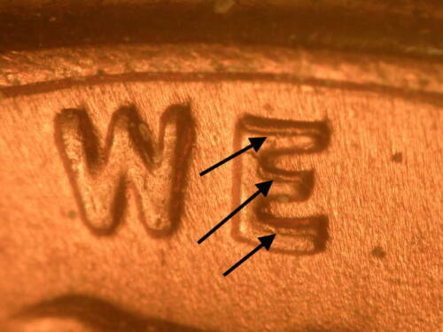 1945-D DDO-011 Doubled Die Obverse  Ch BU Uncirculated Red Lincoln Cent