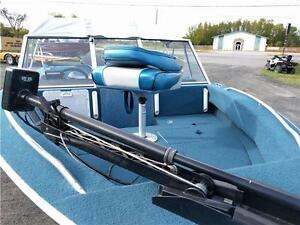 Spetrum 1704 Sport, 100hp Johnson and Trailer