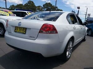 2008 Holden Commodore VE MY09.5 Omega 60th Anniversary White 4 Speed Automatic Sedan Greenacre Bankstown Area Preview