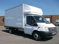 Ford Transit T350 LWB 125 LUTON WITH TAIL LIFT DIESEL MANUAL WHITE (2014)