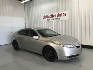 2009 Acura TL HEATEDLEATHER SUNROOF REMOTE START 2 SETS OF TIRES