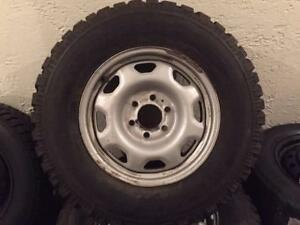 265 70 17 OFF ROAD TIRES MIRAGE MR MT 172 LT AND GENERAL ALTIMAX ARTIC F-150/EXPEDITION RIMS BOLT PATTERN 6X135