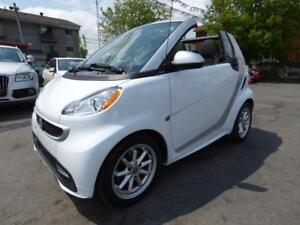 2014 SMART FORTWO ELECTRIC DRIVE PASSION CABRIOLET (MAGS, FULL!)