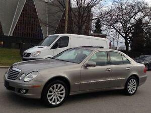2007 MERCEDES-BENZ E 280 4-MATIC ALL WHEEL DRIVE CLEAN CAR-PROOF