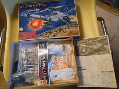 BANDAI GERRY ANDERSON UFO INTERCEPTOR SPACE 1999 THUNDERBIRDS unassembled F/S, used for sale  Shipping to United States