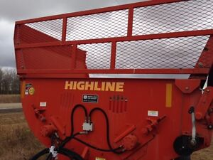 Bale processor highline 7000 plus