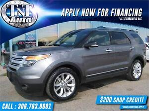 2013 Ford Explorer XLT 4X4 LEATHER-SUNROOF-NAV-BACK UP CAM!