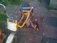 Wanted free 50cc childs bike,quad, lawn mower go kart ect