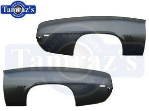 69 Camaro Rear Quarter Panel Skin - Pair LH Left Hand & RH Right Hand New