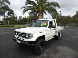 2002 Toyota Landcruiser HZJ79R (4x4) White 5 Speed Manual 2D CAB CHASSIS Cabramatta Fairfield Area Preview