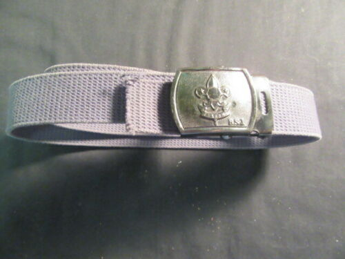 Boy Scouts of Japan Web Belt and Metal Buckle, 38 Inches Long     fx2