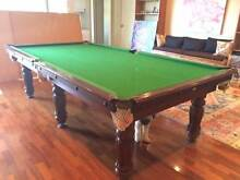 Pool table (plus cue rack, score booard, cues, ping pong table) Mosman Mosman Area Preview