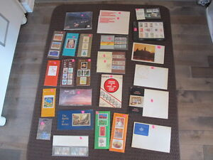 Vintage Canadian Stamps Collection