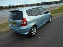 2005 Honda Jazz GD MY05 GLi Sirius Blue 1 Speed Constant Variable Hatchback Hamilton East Newcastle Area Preview