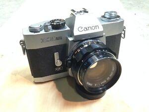 Canon EX Auto 35 mm SLR Film Camera