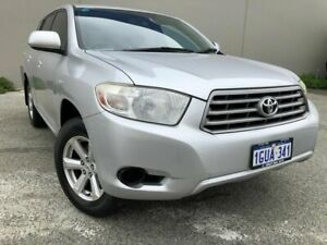 2009 Toyota Kluger KX-R Silver 5 Speed Automatic Wagon Beckenham Gosnells Area Preview
