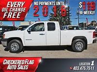 2011 GMC Sierra 1500 W/ Alloy Wheels-4X4-Factory Tow $119/BW!