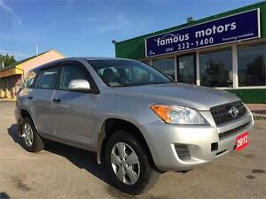 2012 Toyota RAV4  NEW SAFETY! LOCAL VEHICLE! CLEAN TITLE!
