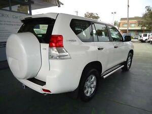 2012 Toyota Landcruiser Prado KDJ150R GX White 5 Speed Automatic Wagon Hamilton Newcastle Area Preview