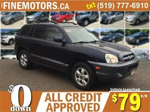 2005 HYUNDAI SANTA FE GL* LOW KM * REMOTE START