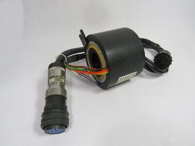 Moog Ac4598-12 Slip Ring With Through Bore Assembly Used