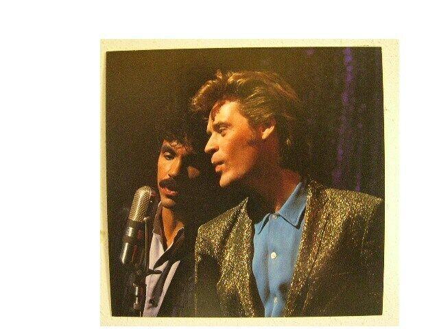 Daryl Hall and & John Oates Poster Duet Shot Flat