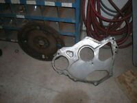 302 Ford Flywheel And Inspection Plate