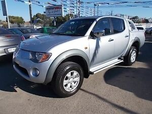 2006 Mitsubishi Triton ML GLX-R (4x4) Silver 4 Speed Automatic 4x4 Double Cab Utility Gepps Cross Port Adelaide Area Preview