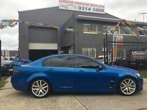 2009 Holden Special Vehicles Clubsport E Series MY08 Upgrade R8 Voodoo Blue 6 Speed Manual Sedan Brooklyn Brimbank Area Preview