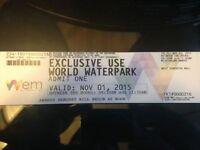 West Edmonton Mall Waterpark Passes - Fundraiser