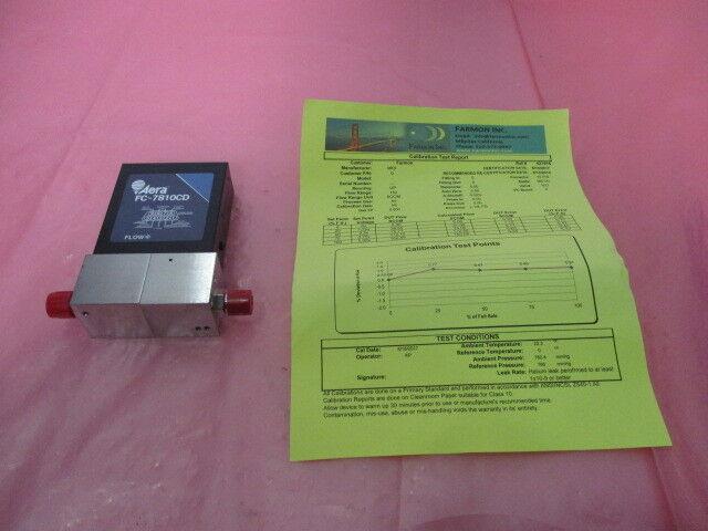 Aera FC-7810CD Mass Flow Controller MFC, O2, 10 SLM, 421460