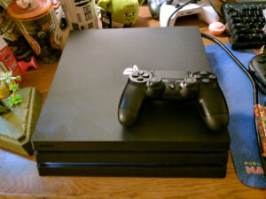 *MINT* PLAYSTATION 4 PRO + TWO CONTROLLERS (PRICE IS FIRM)