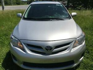 2013 TOYOTA COROLLA CE,PW,PL,AC,SUNROOF,HEATED SEAT,AUX,